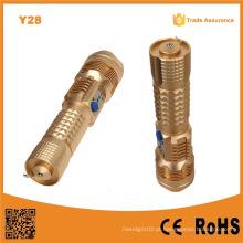 Y28 liga de alumínio LED USB 10W ataque cabeça tocha 1000lm com USB Powerbank