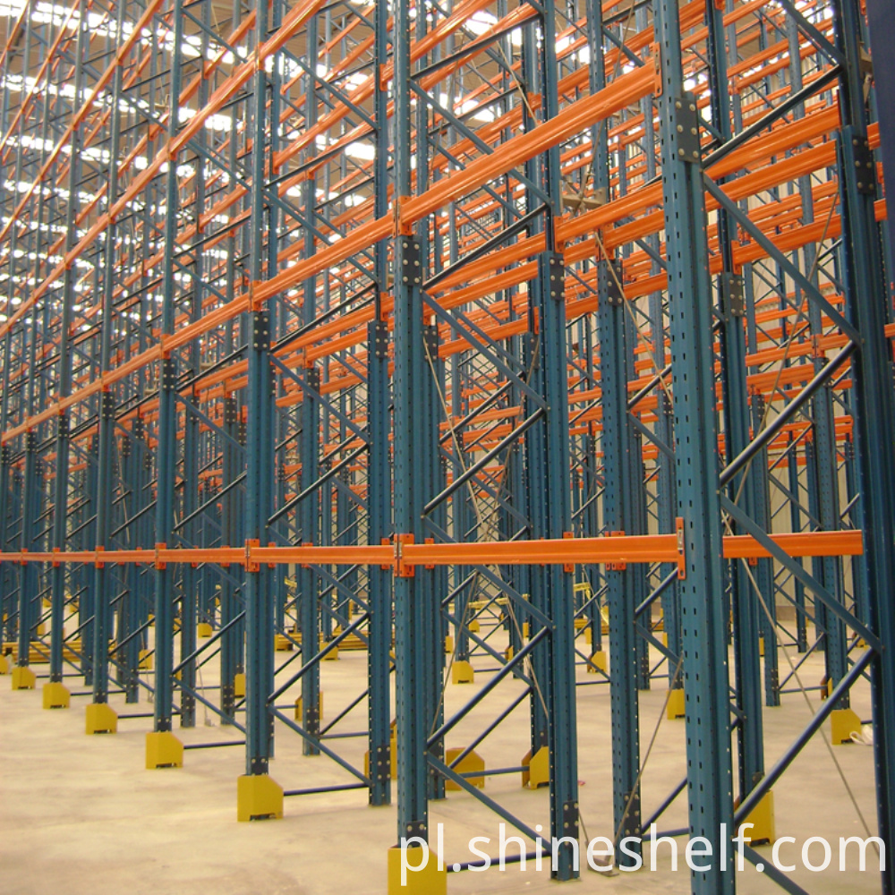 Selective-Pallet-Racking-semifinished-upright-post-