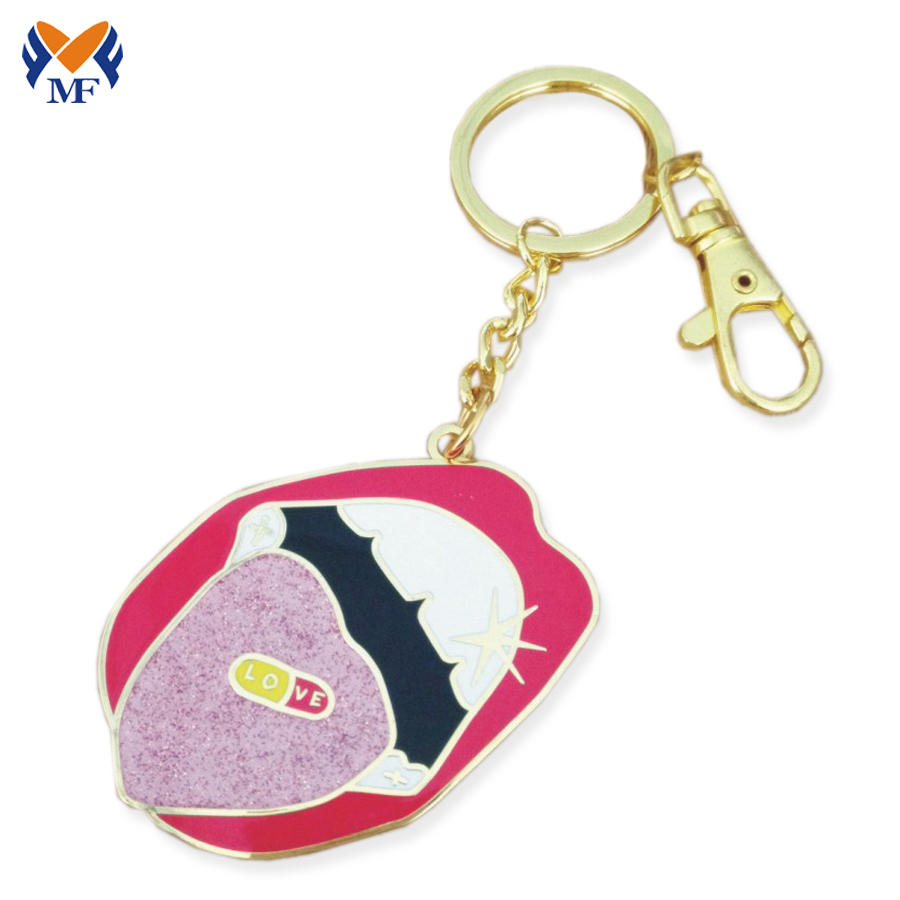 Country Souvenir Keychain