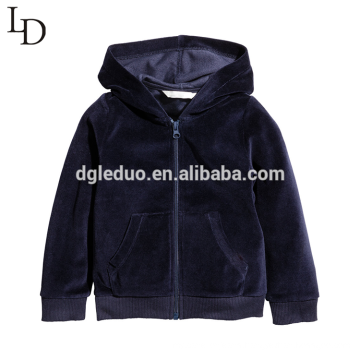High quality children autumn hooded jacket for baby boy