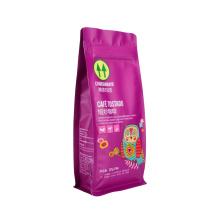 Food Packaging Flat Bottom Kraft Paper Coffee/Food/Tea/Bread Alumium Foil Packaging Aluminum Foil Plastic Coffee Zipper Packaging Bag