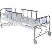 Side Rails dos funciones manual de cama de hospital con doble Shake