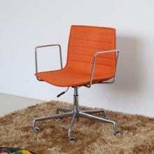 (СП-FC327) Abjustable оранжевый кожаная Мягкая Arper Catifa офисное кресло