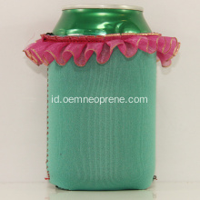2018 Terbaru Lace Stubby Can Cooler Holder
