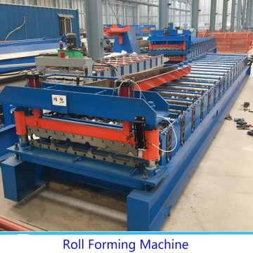 Tile Arc Steel Sheet Roll Forming Machine