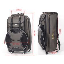 High Canvas Multifunctional Backpack Fishing Bag