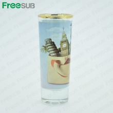 FreeSub Sublimation Kleiner Wein Kurzer Glasbecher