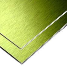 Матовая алюминиевая композитная панель ACP