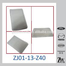 Filtres à air de voiture de haute qualité OEM: ZJ01-13-Z40 pour Mazda