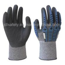 Anti-Auswirkung Sicherheit Handschuh Gauge 18 (TPR9022)