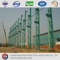 Atelier de structure en acier préfabriquée à colonne de section Latice