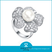 Elegant Fresh Water Silver Ring (SH-R361)