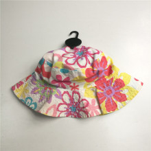 Soft Touch Poplin Wide Brim Bucket Hat