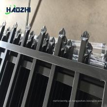 lanças de cerca de cerca de alumínio horizontal