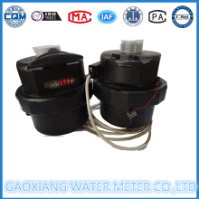 Plastic Nylon Volumetric Water Meter Dn15-Dn20