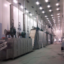 Emamectin benzoate vacuum conveyor belt dryer
