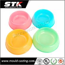 Популярный красочный портативный пластиковый контейнер для пищевых продуктов для домашних животных (STK-PLH0003)