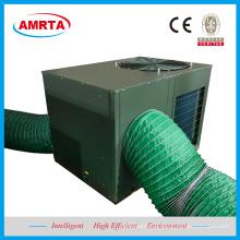 Unidad empacada en la azotea de recuperación de calor