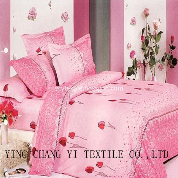 Top Quality 100% Cotton Bed Sheets Fabric