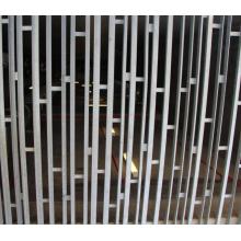 Biombo colorido de aço inoxidável