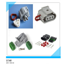 3 Pin Way Waterproof Electrical Wire Connector Plug