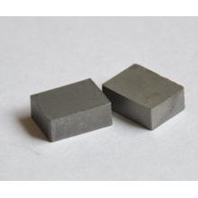 Placas retangulares resistentes do desgaste do prato do carboneto de tungstênio