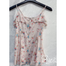 Rayon Short Dress For Ladies