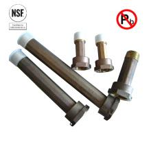 NSF61 certificat sans plomb plomb bronze couplage