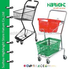 Trolleys für Einkaufskörbe