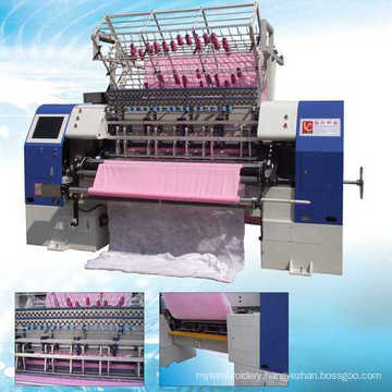 High Speed Computerized Lock Stitch Multi Needle Quilting Machine for Home Textile