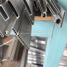 Плоская алюминиевая экструдированная многопортовая трубка