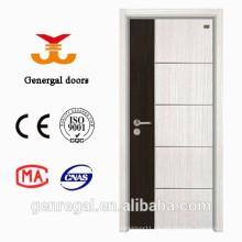 Nuevos proveedores de puerta interna de melamina de madera contrachapada