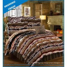 5 Piece Animal Prints Polyester Comforter Set