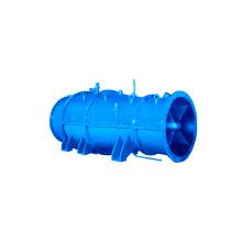 Bomba submersível de fluxo cruzado com desempenho estável