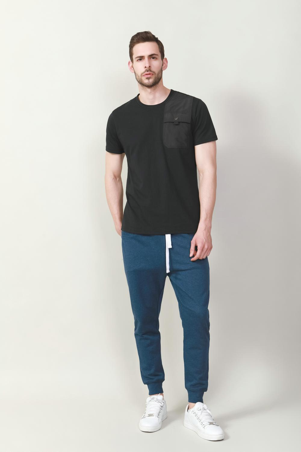 Men's melange sport pants