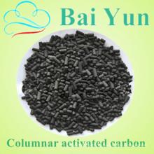 Alto valor de yodo bajo en cenizas 4.0mm carbón activado