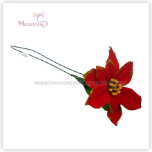 X′mas Tree Ornaments Decorative Flowers for Christmas Tree Decoration