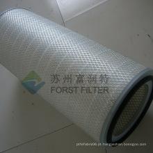 FORST Junta de borracha de cloro Elemento de cartucho de filtro de celulose