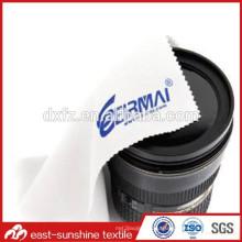 Рекламные логос напечатанные ткани microfiber для передвижной камеры, ткань чистки экрана компьютера для камеры / передвижной ткани чистки