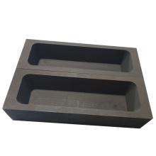 Fine grain refractory supply different types good stability artificial metal casting graphite boat