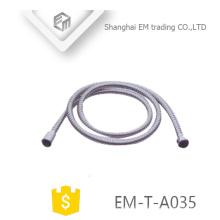 EM-T-A035 Tuyau de douche à double clip en acier inoxydable