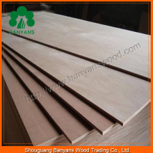 Thickness 1.6-18mm Poplar Core BB/CC Grade Commercial Plywood