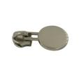 Deslizador modificado para requisitos particulares de la cremallera metálica de la ropa barata