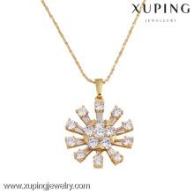 31008 Xuping grands pendentifs pour la fabrication de bijoux, pendentifs de bijoux en plaqué or saudi