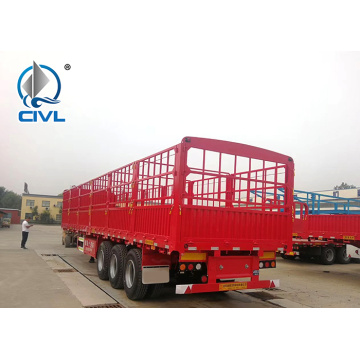 Trailer Semi Kargo Pagar 3 Gandar 40ft