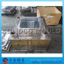 Fabricante de moldes de caixa de armazenamento de lavanderia de injeção de plástico de alta qualidade