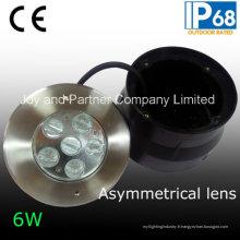 Éclairage asymétrique de piscine de 12V 6W (JP-94761-AS)