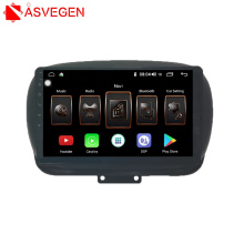 Factory Touch Screen Car Audio Radio DVD  Car Stereo Player  With BT For Fiat 500X Car Video Player