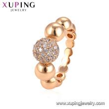15071 xuping jóias mulheres Cobre Ambiental anéis de jóias de moda de ouro
