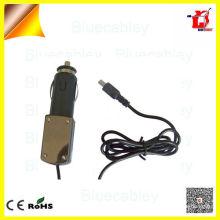 Belt Line cable de datos usb Cargador decorativo del coche del panel eléctrico para el teléfono móvil